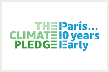 The Climate Pledge logo
