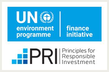 UN PRI logos