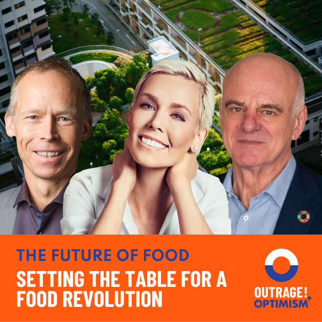 Setting The Table for a Food Revolution cover art