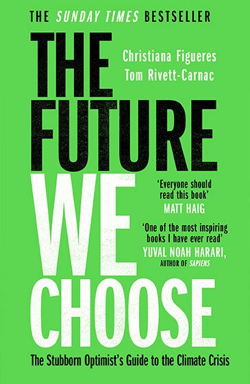 The Future We Choose cover art (UK paperback)